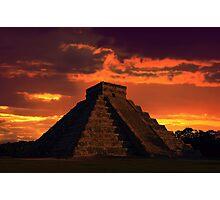 Mystical Mayan Photographic Print