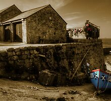 Fishing boat at Sennen Cove by Rob Hawkins