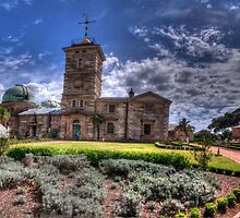 Reach For The Sky - Sydney Observatory c1858, Observatory Hill, Sydney  - The HDR Experience by Philip Johnson