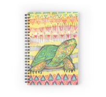 Turtle drawing - 2015 Spiral Notebook