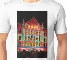 0336 Melbourne - White Night 10 Unisex T-Shirt