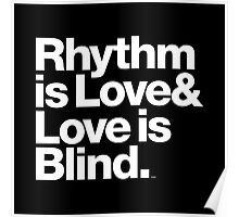 André Cymone Love to Dance Electric Helvetica Threads Poster