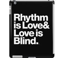 André Cymone Love to Dance Electric Helvetica Threads iPad Case/Skin
