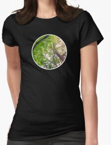 Under The Trees Womens Fitted T-Shirt