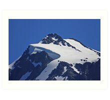 on top of mt shuksan, washington, usa Art Print
