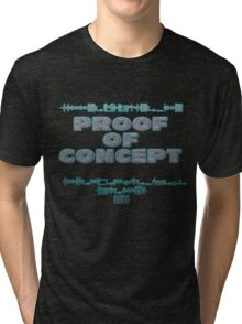 Proof of Concept Tri-blend T-Shirt
