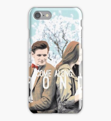 Amelia and Her Doctor iPhone Case/Skin