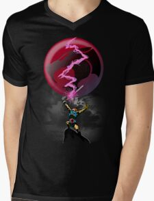 EPIC THUNDER SWORD SCENE Mens V-Neck T-Shirt
