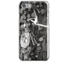 Nailed Or Screwed That Is The Question iPhone Case/Skin