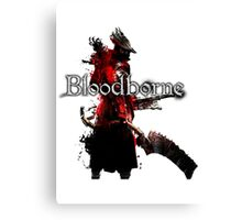 Bloodborne - Hunter Canvas Print