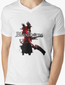 Bloodborne - Hunter Mens V-Neck T-Shirt