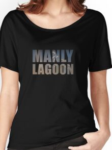Manly is Lagoon - Mens T Women's Relaxed Fit T-Shirt