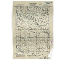 USGS Topo Map Oregon Tangent 282190 1911 31680 Poster