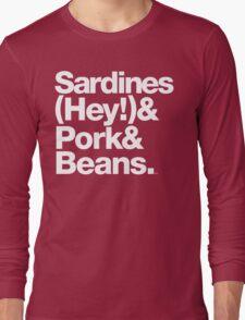 Sardines & Beans Junkyard Chuck Brown Helvetica Threads Long Sleeve T-Shirt