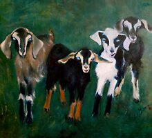 Trouble- Goats by Jenny Hambleton