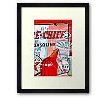 fire chief Framed Print