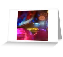Bokeh, Tones And Colours Greeting Card