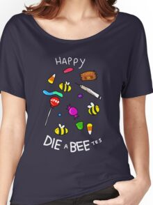 HAPPY HALLOBEES Women's Relaxed Fit T-Shirt