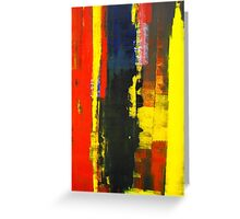 ABSTRACT UNTITLED IV Greeting Card