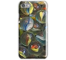 Illustrated marbles iPhone Case/Skin