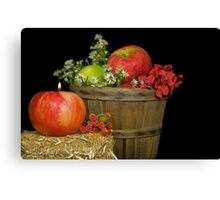 Autumn Apples Canvas Print