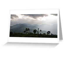 The Road To Da Lat Greeting Card
