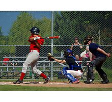 THREE STRIKES - YER OUT!!!! Photographic Print