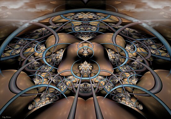 The  Collective Organism - Awake From Ignorance by Craig Hitchens - Spiritual Digital Art