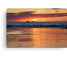 Tofino Sunset Canvas Print