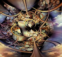 The Collective Organism - Realization by Craig Hitchens - Spiritual Digital Art