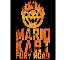 Mario Kart Fury Road Photographic Print