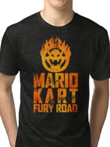 Mario Kart Fury Road Tri-blend T-Shirt