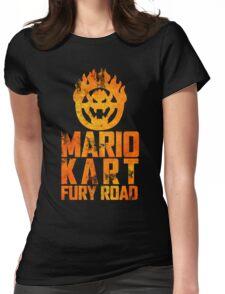 Mario Kart Fury Road Womens Fitted T-Shirt