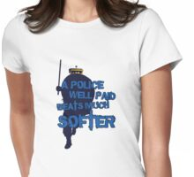 POLICE #NYPD Womens Fitted T-Shirt
