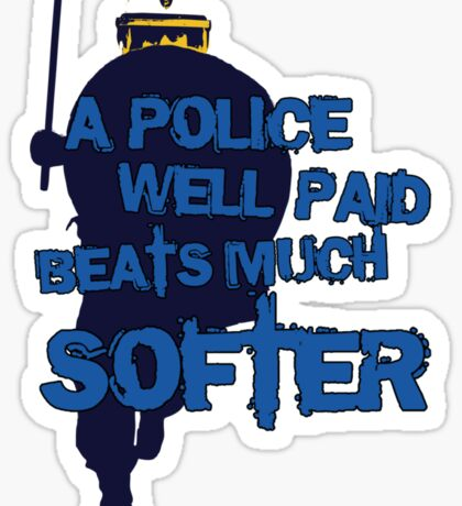 POLICE #NYPD Sticker