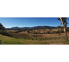 Megalong Valley Panorama Photographic Print