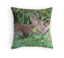 I know you can't be looking at me, I'm invisible! Throw Pillow