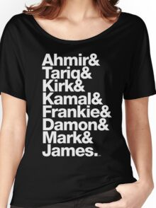 The Roots & Questlove Helvetica Ampersand Merch Women's Relaxed Fit T-Shirt
