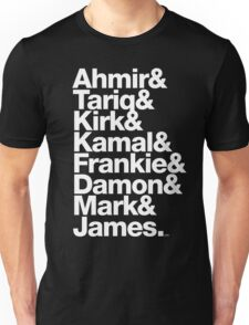 The Roots & Questlove Helvetica Ampersand Merch Unisex T-Shirt