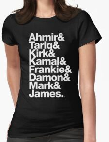 The Roots & Questlove Helvetica Ampersand Merch Womens Fitted T-Shirt