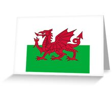 Wales National Flag - Welsh Rugby Football Fan Sticker T-Shirt Bedspread Greeting Card