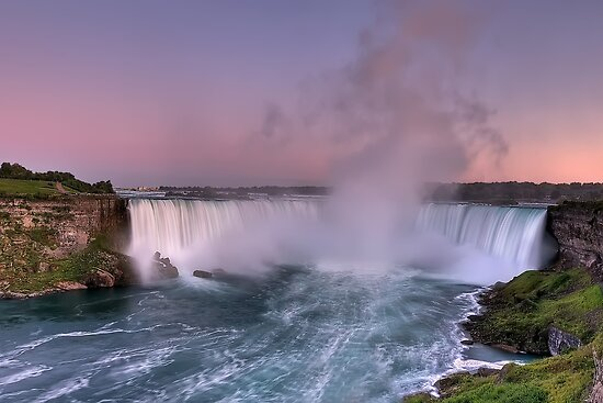Power of Horseshoe - Niagara Falls  by JHRphotoART
