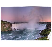 Power of Horseshoe - Niagara Falls  Poster