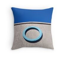 Oh - welcome home Throw Pillow