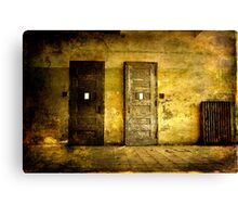 Abandoned Psychiactric Hospital- Textured Canvas Print
