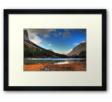 At Elbow lake II Framed Print