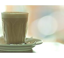 early morning melbourne latte ................ Photographic Print