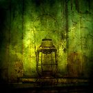 Abandoned Train Lantern by kailani carlson