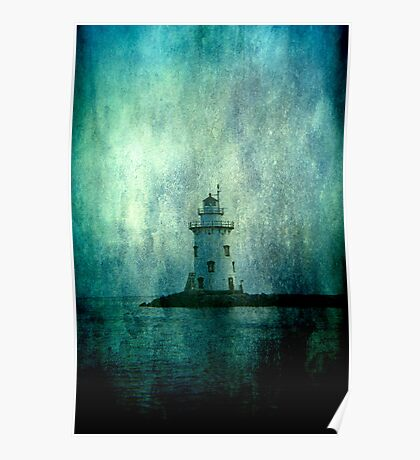 Lighthouse- Textured Poster