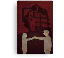 Doctor Who 177 Doomsday Canvas Print